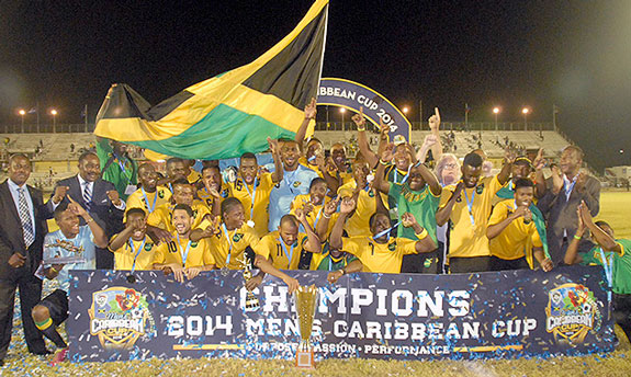 Jamaica crowned Caribbean Champions 2014