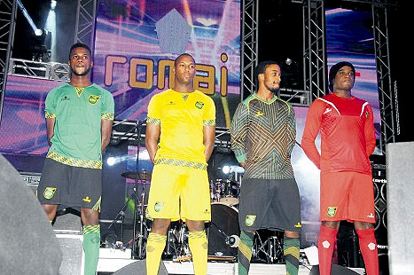 Jamaica Football Kits